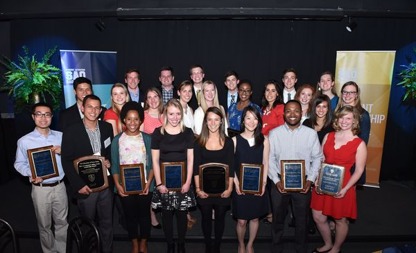 2014-2015 Student Leadership Award Winners