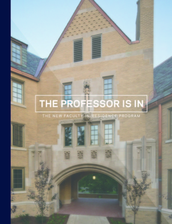 Faculty in Residence Profile