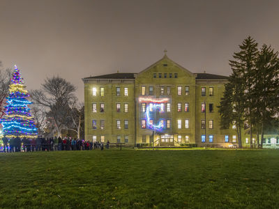 Carroll Christmas, Carroll Hall