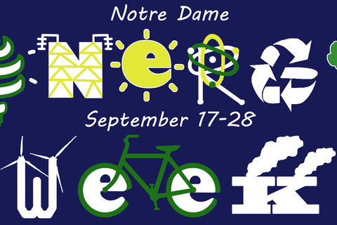 Energy Week Plus! raises awareness of major energy topics and issues important to Notre Dame