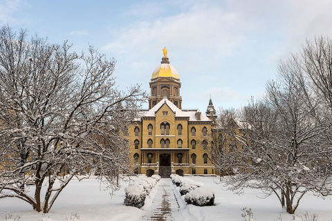 Notre Dame to close due to severe weather