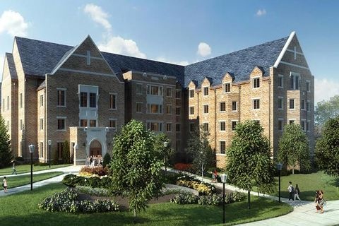 Baumers make gift to Notre Dame for new residence hall