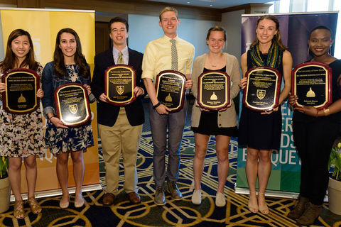 Division of Student Affairs recognizes outstanding student leaders