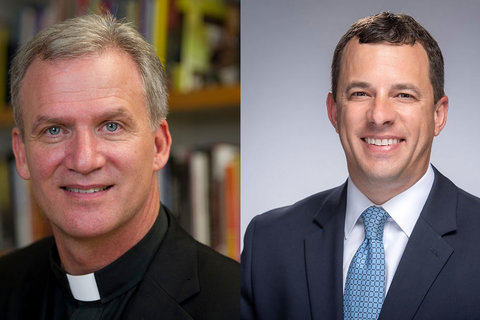 Rev. Daniel Groody, C.S.C., appointed vice president and associate provost; Jim Morrison takes on expanded role as associate provost for strategic initiatives